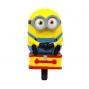 klaxon Minion 3D pour vélo enfant