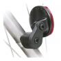 Attache sur tube pour feu ou reflecteur de vélo - KlickFix