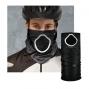 Foulard anti-pollution et pollen pour cycliste noir parametric HAD
