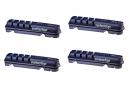 x4 Cartouches de Patins de Frein SwissStop Flash EVO BXP Pour Jantes Aluminium Pour Freins Shimano / Sram / Campagnolo