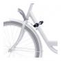 Repose pieds sur cadre vélo pour siège enfant avant - Steco