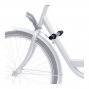Repose pieds sur cadre vélo pour siège enfant avant - Steco .
