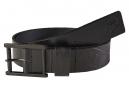 Ceinture Fox Briaricliff Leather Belt Black