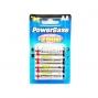 Piles rechargeables PowerBase AA R6 Ni-MH 2000 mAh - par 4