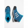 Chaussures Randonnée Adidas Hyperhiker K Bleu Gris