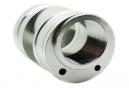 Boitier de pédalier excentrique aluminium pour Tandem .