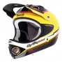 Casco integral Urge DOWN-O-MATIC Amarillo