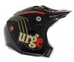 URGE REAL JET Helmet Black / Gold / Red
