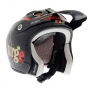 Casque Urge REAL JET Noir / Or / Rouge