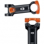 Crank Brothers Stem IODINE 2 Black Orange angle 6