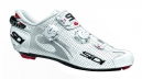 Chaussures Route Sidi WIRE CARBON AIR Blanc verni
