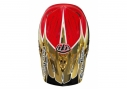 Casque intégral Troy Lee Designs D3 COMPO PALMER Or Rouge