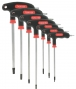 VAR Game 7 Male Wrenches Torx T7 to T40 Handle´´ T´´