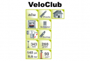 ICE TOOLZ VeloClub A351 Mini Floor Pump