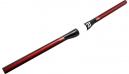 3T Cintre XIDA TEAM Carbone 640x31.8 mm Noir Rouge