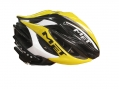 MET helmet STRADIVARIUS HES Black White Yellow