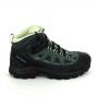 Chaussure de marcheRando - Trail SALOMON Authentic GTX F Gris Vert