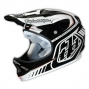 TROY LEE DESIGNS 2014 Helmet D2 DELTA White Black