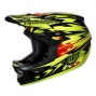 Casco integral Troy Lee Designs D3 THUNDER Amarillo Negro