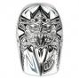 Casque intégral Troy Lee Designs D3 AZTEC Blanc Noir