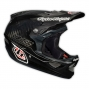 TROY LEE DESIGNS 2014 Helmet D3 Carbon PINSTRIPE Black