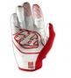 TROY LEE DESIGNS Paire de Gants Longs GP AIR Blanc Rouge