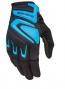 661 SIXSIXONE 2014 Paire de Gants Longs RAGE Noir Bleu