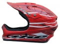 Casque intégral The ABS CURRENT Rouge