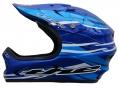 Casque intégral The ABS CURRENT Bleu