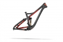 DEVINCI 2014 Frameset TROY 27.5'' 140mm Red