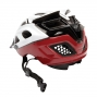Casco Fox STRIKER 2013 Blanco Negro Rojo