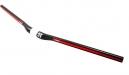 3T Cintre EXTENDO TEAM 31.8x740mm Réhausse 12mm Carbone Rouge