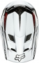 FOX 2014 Full Face Helmet Rampage Pro Carbon White
