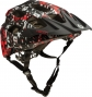 Casco 661 SIXSIXONE RECON REPEATER 2014 Negro Rojo