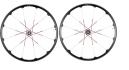 CRANKBROTHERS ROUES COBALT 3 29'' Av 9/15mm - Ar 9x135/12x142mm Noir Rouge