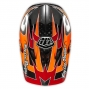 Casco integral Troy Lee Designs D3 SPEED Naranja