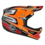 Casque intégral Troy Lee Designs D3 SPEED Orange