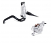 FORMULA 2014 RO Rear Brake 165cm Hose without Disc Silver