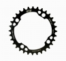 NSB Single Chainring 12S Variable Tooth 104mm Black