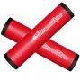 LIZARD SKINS DSP Paire de Grip 32.3mm Rouge