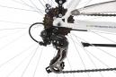 VTC KS Cycling Vegas 700mm Shimano Tourney 7V Guidon Plat Blanc