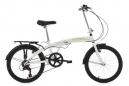 Vélo pliant KS Cycling Cityfold 20'' Shimano Tourney 6V Blanc