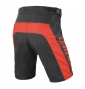 DAINESE Short HUCKER Noir Rouge