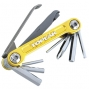 TOPEAK Multi-Outils MINI 9 PRO Or (9 outils)