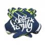 DEFT FAMILY Paire de Gants CATALYST 3 SWOOP Bleu Vert