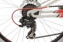 VTT tout suspendu KS Cycling Topeka 26'' Shimano Tourney 7V Blanc Rouge