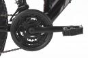 VTT tout suspendu KS Cycling Zodiac 26'' Shimano Tourney 7V Noir Blanc