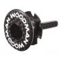 Cubierta de WOODMAN CARBON COMP 1''1 / 8 Negro