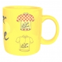 TOUR DE FRANCE  Mug Céramique Jaune