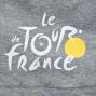LE TOUR DE FRANCE T-Shirt GRAPHIC TDF Grey
